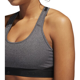 adidas Don't Rest Alphaskin Sport H Brassière Femme, dark grey heather/black